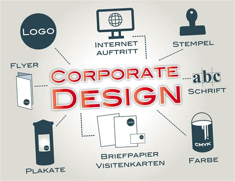 corporate design erscheinungsbild logo geschaeftspapiere