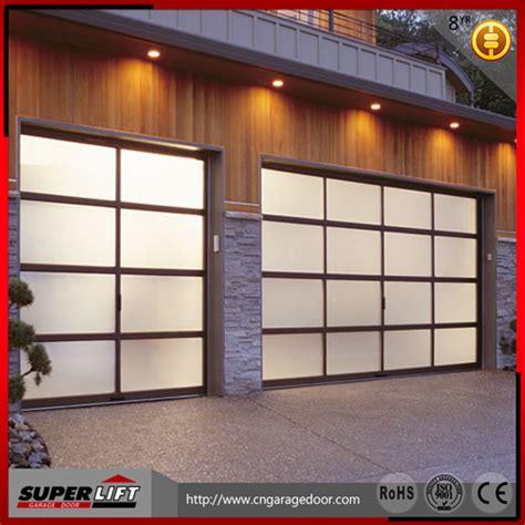 sectional garage door cost sectional aluminum alloy glass garage door price buy