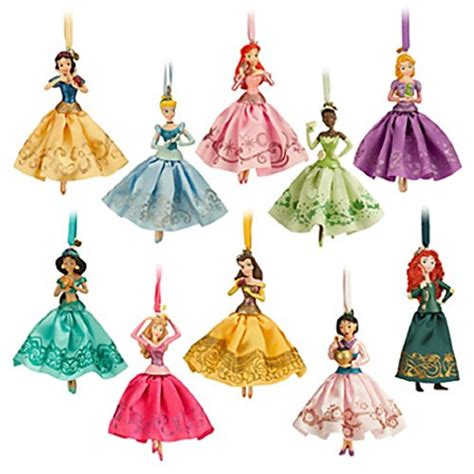 disney princess christmas ornaments