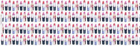 themes ltd banner lined up lipsticks twitter header fashion wallpapers