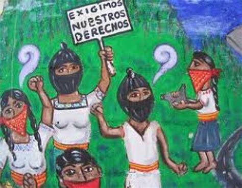 imagenes del movimiento zapatista de liberacion nacional g 233 nero con clase pr 225 ctica feminista en el movimiento