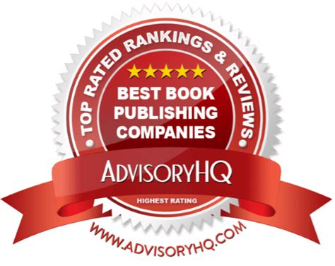 best book publishers top 6 best book publishing companies 2017 ranking list
