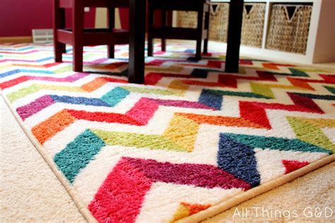 Playroom Area Rugs Kate S New Playroom A Mohawk Rug Giveaway All Things G D
