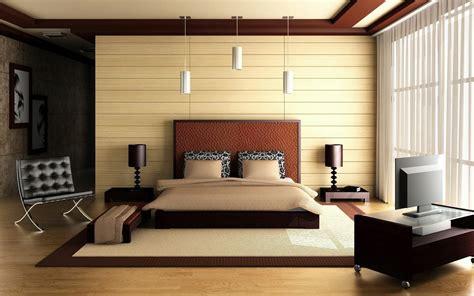 Bedroom Bed Architecture Interior Design High Resolution