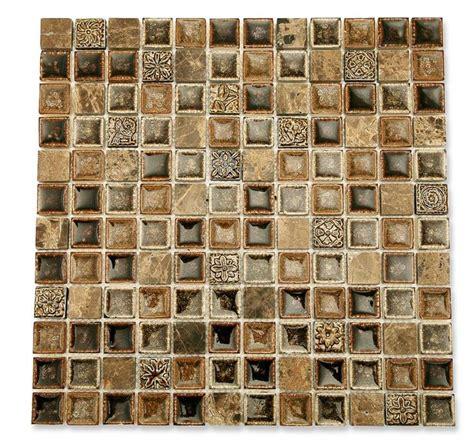 Kitchen Tiles Backsplash Roman Collection Chamoisee 1x1 Glass Tile Shop Glass