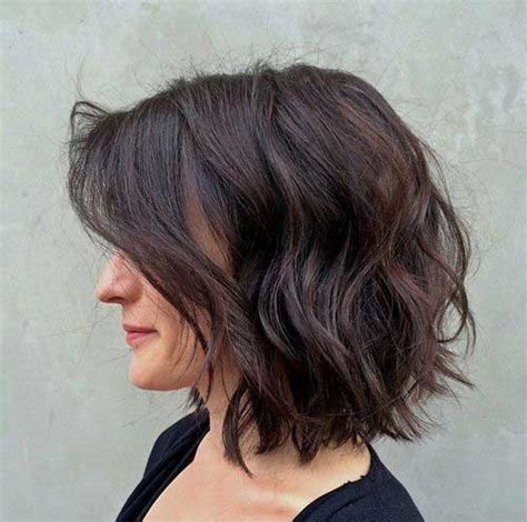 Really Popular Dark Brown Short Hairstyles   Short