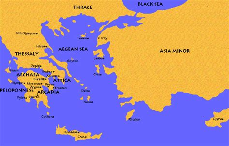 map of archaic greece maps of ancient greece in