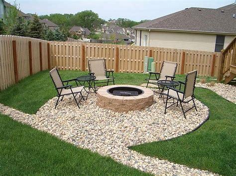 simple backyard fire pit backyard landscaping here s a simple backyard landscapin