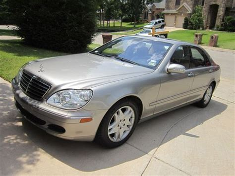 how things work cars 2003 mercedes benz m class electronic throttle control buy used 2003 mercedes benz s500 in hurst texas united states for us 13 000 00
