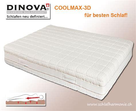 matratzen günstig kaufen schweiz coolmax 3d die matratze der neuesten generation