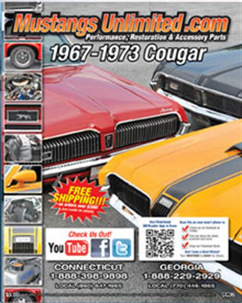classic mustang parts catalog free mercury parts parts for 1967 to 1973 mercury cougars