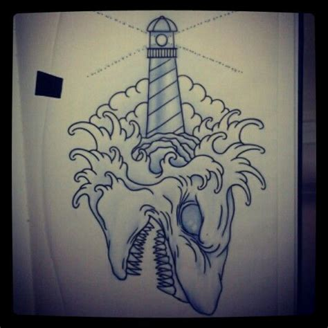 lotus tattoo gainesville fl original shark and lighthouse tattoo design gustavo in