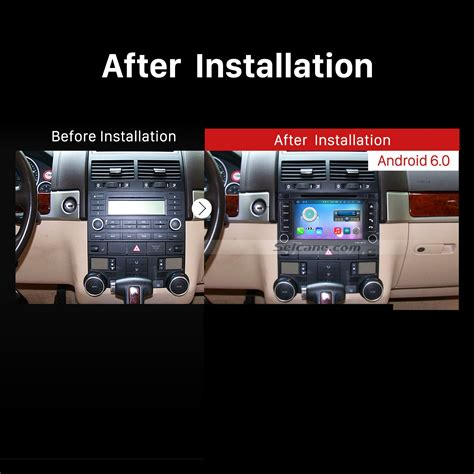 vehicle repair manual 2007 volkswagen touareg navigation system oem android 6 0 2002 2011 vw volkswagen touareg radio replacement with in dash car dvd gps