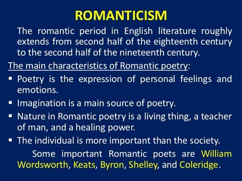 themes of english romantic poetry william wordsworth quot the solitary reaper quot