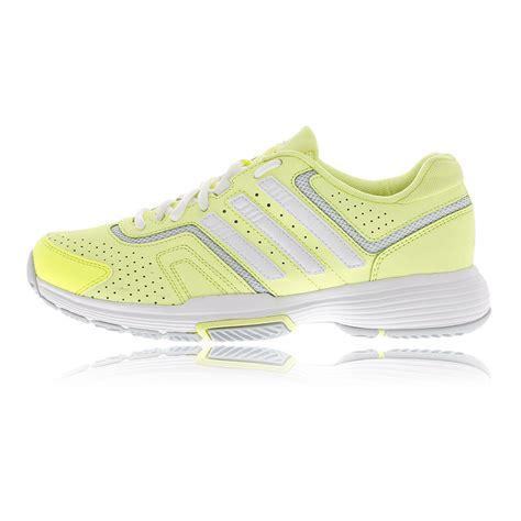 sport tennis shoes adidas barricade court womens yellow tennis sport shoes