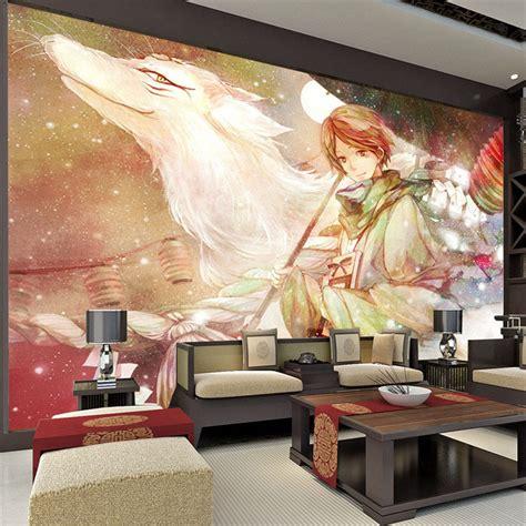 anime bedroom decor custom large anime photo wallpaper room decor natsume s book of friends wall mural art