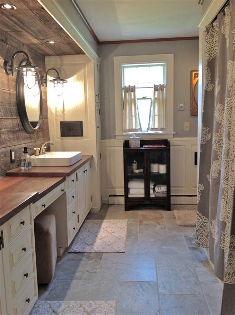 Farmhouse Bathrooms Ideas Route 2 Rural Farmhouse Bathroom Remodel Done