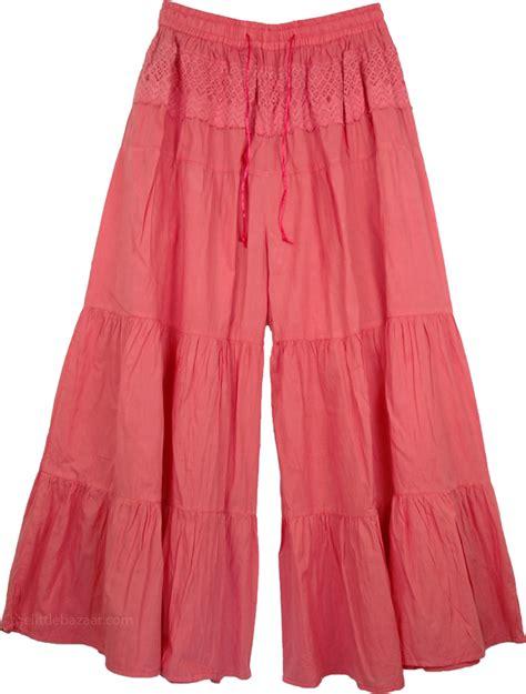 Pant Skirt bittersweet pink culottes split skirt pink clothing split skirts