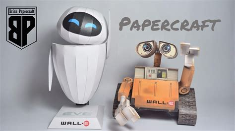 Wall E Papercraft - wall e and paper models papercraft
