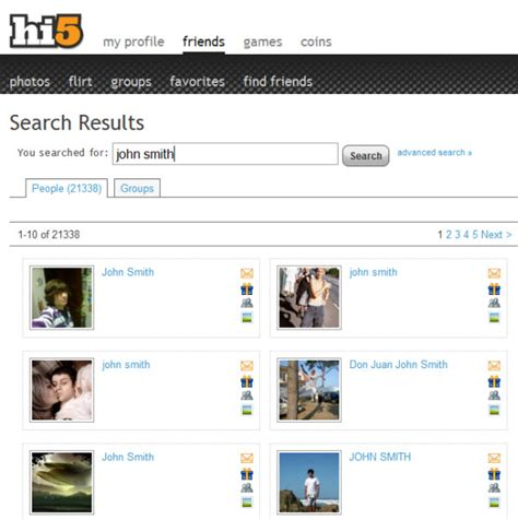 Hi5 Search By Email Find Friends With These 7 Social Networking Websites