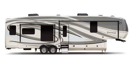 Class C Motorhome Floor Plans semi caravane de luxe pinnacle 2017 jayco inc