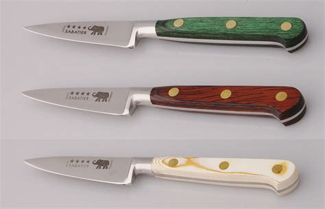 Sabatier Kitchen Knives 3 In 8 Cm Paring Knife With Color Choice Great French