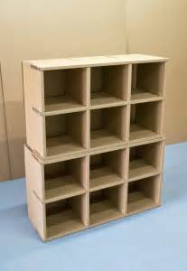 cardboard shelving unit shelves home library cardboard furniture collection photos