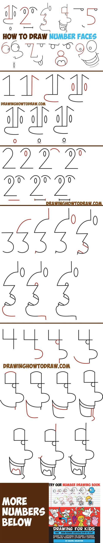 Drawing Numbers by Easy Drawing Tutorial Te Kolay 199 Izimler 2