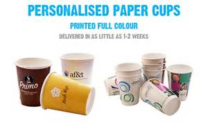 personalised cups printed paper cups custom coffee