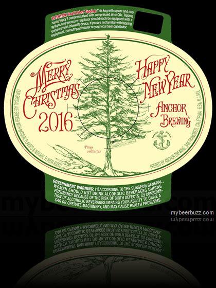 anchor brewing reveals  special ale  merry christmas happy  year  mybeerbuzz