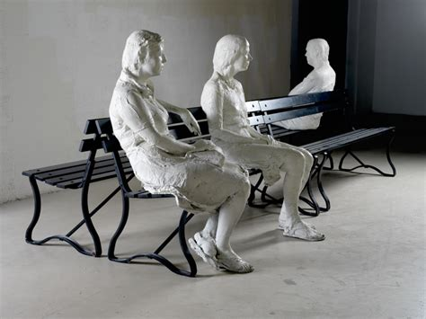 three figures and four benches sculptures from the martin z margulies collection ta
