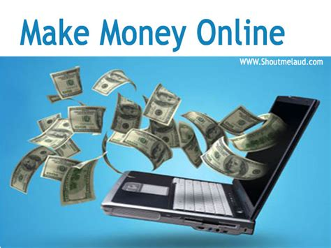 How To Make Decent Money Online - how to make good money on internet make money from home on your computer