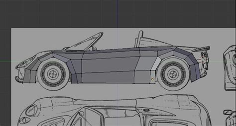 tutorial blender modeling car modeling and rendering a car in blender and photoshop