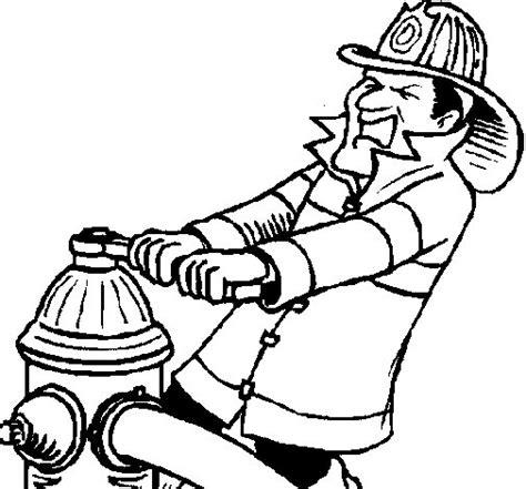 imagenes para colorear bombero dibujo de bombero 4 para colorear dibujos net