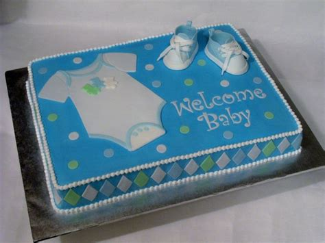 Baby Shower Sheet Cakes For Boy by 1000 Ideas About Baby Shower Sheet Cakes On