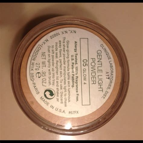 Clinique Clinique 05 Glow 4 Gentle Light Powder From S