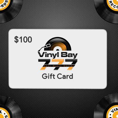 Vinyl Gift Card - 100 gift card vinylbay777