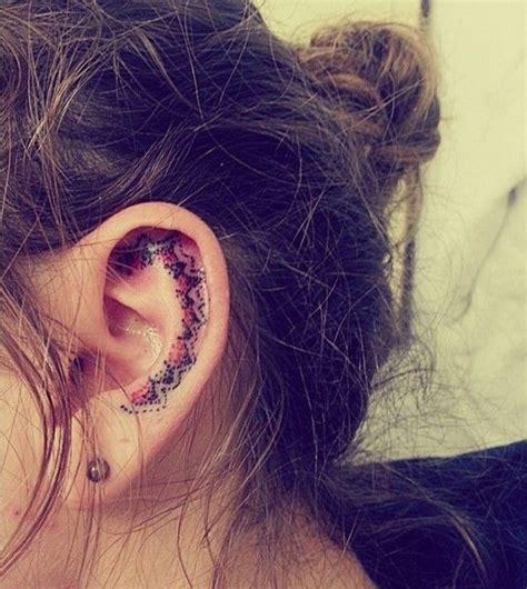 inner ear tattoos 25 best ideas about inner ear on ear