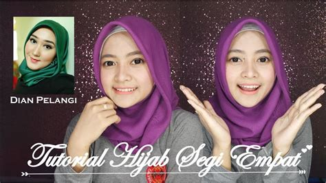 youtube tutorial hijab paris ala dian pelangi tutorial hijab segi empat modern ala dian pelangi