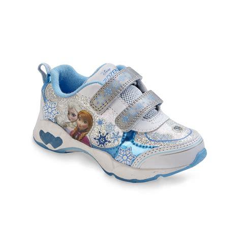 frozen shoes for disney frozen toddler s blue white light up sneaker