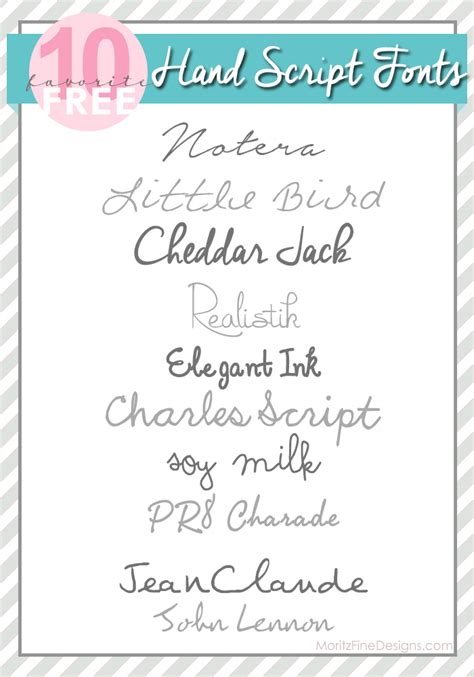 best script best script fonts from moritz designs