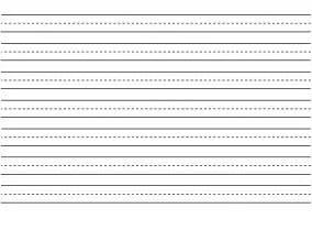 free blank writing sheets for kindergarten good free