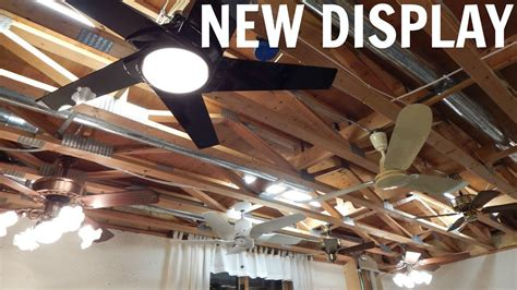 Ceiling Fans On Display At New Ceiling Fan Display Phase 1 In Operation