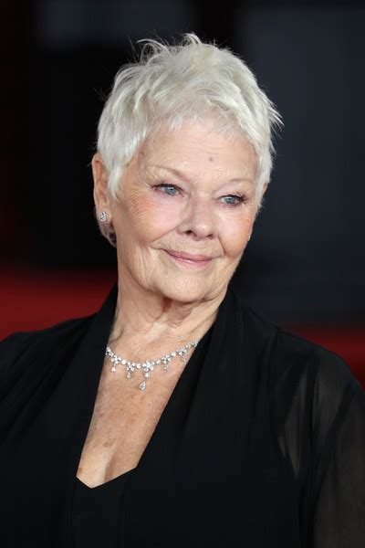 what products to use to get judi dench hair how to get judi dench hairstyle short pixie cut for