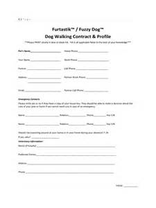 dog walking contract template 2 free templates in pdf