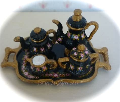 dolls house tea set 17 best images about victorian doll tea set on pinterest miniature toys and high tea