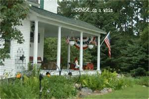 Farmhouse Porches Denise On A Whim Fabulous Farmhouse Front Porch
