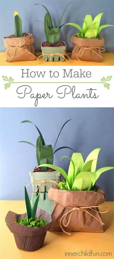 How To Make Paper Bushes - i am flower and inner child on