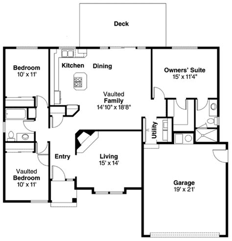for downsizing 72620da 1st floor master suite