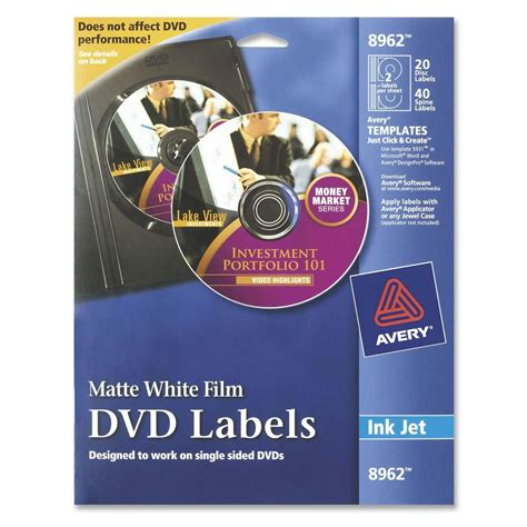 avery dvd templates avery dvd label ld products